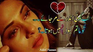 Best Urdu 2 line poetry| 2 line sad urdu poetry|Couple poetry|Sad Love Poetry|Adeel Hassan|Poetry