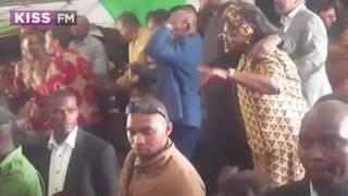 Check Out Scenes From Uhuru's Son Jomo Kenyatta And Achola's Traditional Wedding