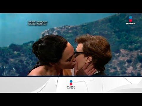Xxx Mp4 Gal Gadot Se Da Beso Lésbico En Show De Saturday Night Live Noticias Con Francisco Zea 3gp Sex