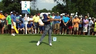 Jason Day's slo-mo swing is analyzed at The Barclays