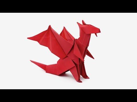 Origami Dragon Jo Nakashima Dragon 6
