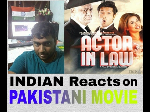 Indian Reacts on Pakistani Movie Trailer Actor In Law