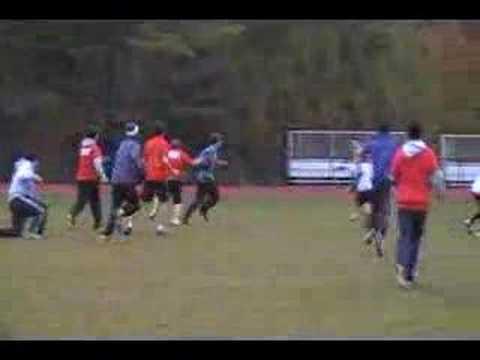 Friends' Central Football versus TPS kids, Summers run