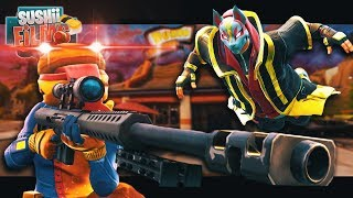 DRIFT SAVES NOOBS FROM BEEF BOSS!   A Fortnite Film