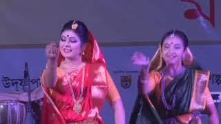নাচ। সোহাগ চাঁদ বদনি। Sohag Chand Bodoni dhoni dance .