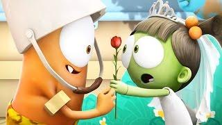 Funny Animated Cartoon | Spookiz School Play Love Story 스푸키즈 | Cartoon for Children