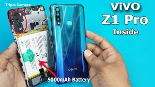 How To Open ViVO Z1 Pro Back Panel || ViVO Z1 Pro Disassembly / ViVO Z1 Pro Teardown