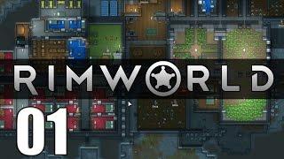 Rimworld en español #01 - Historias de la colonia. Gameplay y primeros pasos