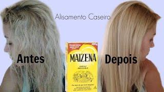 Como alisar cabelo em casa. sem QUÍMICA - Receita Caseira