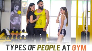 Types Of People At Gym   Sanju Sehrawat   Make A Change
