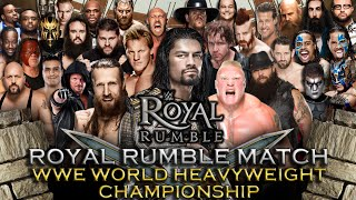 WWE Royal Rumble 2016 - Royal Rumble Match (WWE World Heavyweight Championship) - WWE 2K16