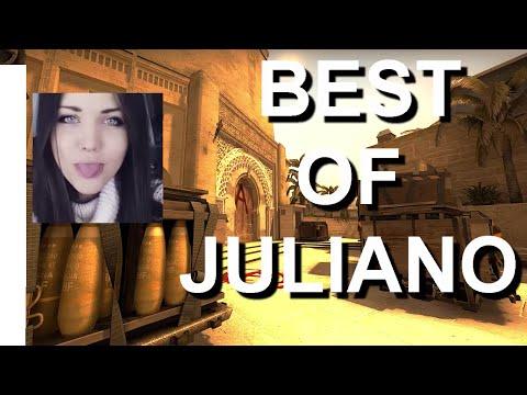 BEST OF JULIANO (Best girl player in CS:GO)
