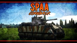 War Thunder RB Gameplay - American 8.0 - How To Make a Comeback With SPAA