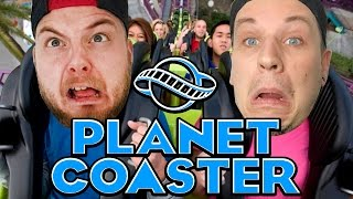THE GREATEST THEME PARK?! - Planet Coaster! W/AshDubh!
