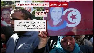 ما سر اندلاع الاحتجاجات في شهر يناير بتونس؟