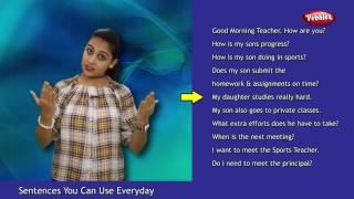 Hindi Sentences You Can Use Everyday | Parent Teacher Meeting | Everyday English Sentences