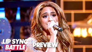 Fifth Harmony's Ally Brooke is Selena AND J-Lo | Lip Sync Battle Preview