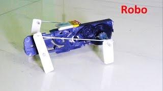 How to make a Four Legged Walking Robot