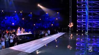 Melanie Amaro X Factor USA Audition (Listen)