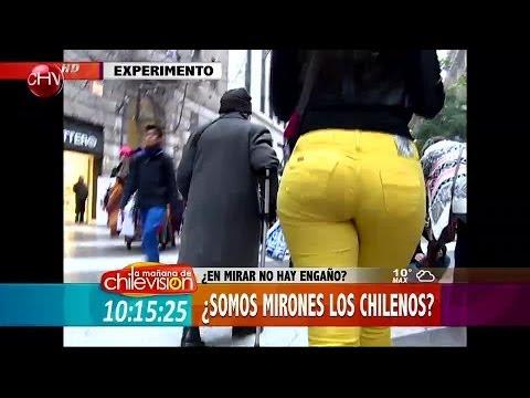¿Somos mirones los chilenos Mira este curioso experimento social La Mañana de CHV