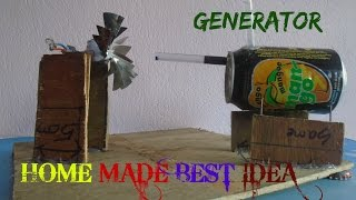 How to make Steam Power Generator - a cool science project