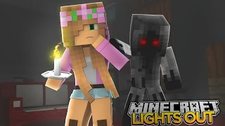 Minecraft Lights Out : LITTLE KELLYS SCARIEST VIDEO YET!