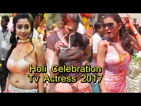 Xxx Mp4 Indian TV Actress Holi Celebration 2017 3gp Sex