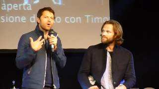 Jibcon 2016 - Jared & Misha Sunday Panel (Part 1/2)