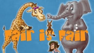 Fun Children's Book Reading with Pictures about Fairness