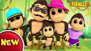 Gorilla Finger Family | Nursery Rhymes For Kids | Baby Songs | Children Rhymes