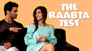 RAPID FIRE | Sushant Singh Rajput and Kriti Sanon decode their real life