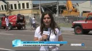 Earthquake swarm Italy - live videos - immagini in diretta terremoto Emilia Romagna (may 2012)