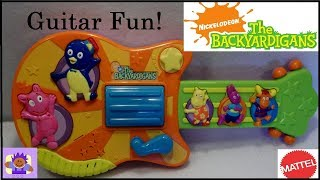 2006 Nick Jr. The Backyardigans Musical Toy Guitar By Mattel