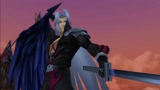 Kingdom Hearts 2 Final Mix [HD 2.5 ReMIX] - Sephiroth: BOSS BATTLE [English - Proud]