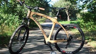 Bike You'll Like: Ukrainian team presents unique wooden bicycle