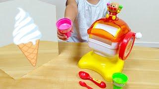 Ice Cream Maker Anpanman / アンパンマン アイスクリームメーカー