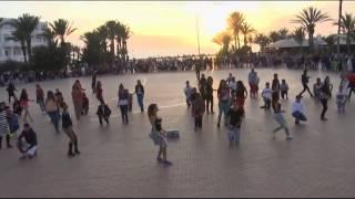 FlashMob [ A.S.C.S ] Agadir - Lutte contre le Sida - Maroc 2013 (Officiel)
