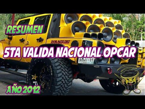5ta Valida Nacional Sound Car Copa 18Sound OPCAR Venezuela