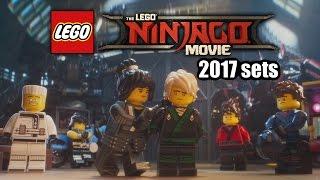 LEGO Ninjago Movie 2017 sets list revealed!