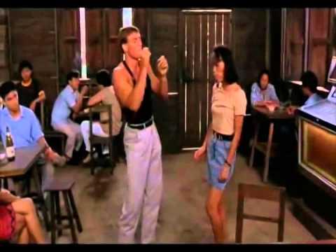 Jean Claude Van Damme baila Quien Pompo de Chico Che