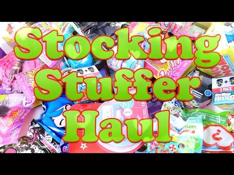 Ultimate Stocking Stuffer Haul - Fabulous Holiday Gift Ideas - PLUS Free Giveaway - 4K