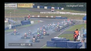 2017年オートバックス全日本カート選手権 OK 第6戦 決勝