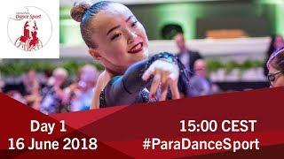 2018 World Para Dance Sport Polish Open   Lomianki   Day 1