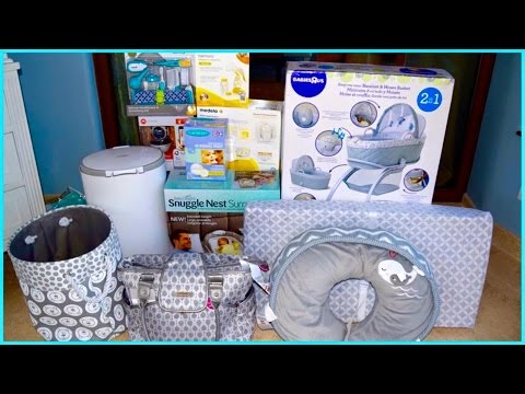 BABY BOY STUFF HAUL & TOP 5 FAVORITE BABY SHOWER GIFTS.(FIRST MOM)