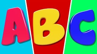 ABC Song | Learn Alphabets | Nursery Rhymes For Kids | Preschool Videos For Children