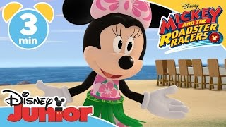 Mickey and the Roadster Racers | Happy Hula Helpers! | Disney Junior UK