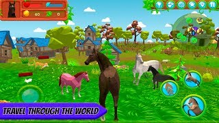 Horse Family Animal Simulator 3D By CyberGoldfinch, Android Game