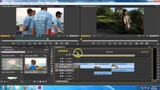 Adobe Premiere Pro CS6 - Basic Editing Introduction Tutorial