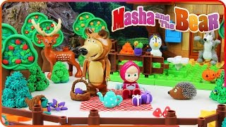 ♥ Masha and the Bear New Episodes 2016 (Garden of Stolen Carrots, Dangerous Juice...)