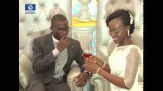 Metrofile: Sola Goes Emotional As She Exchanges Marital Vows With Iyanuloluwa